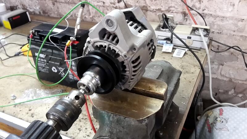 Technik: Einbau Denso/Nippon Lichtmaschine | Guzzi4ever